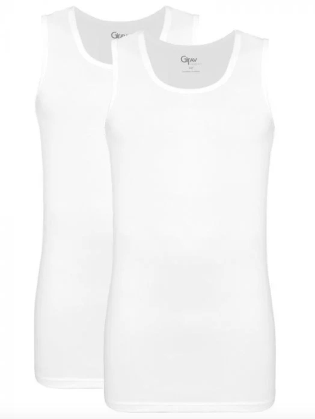 Singlet v-hals t-shirts