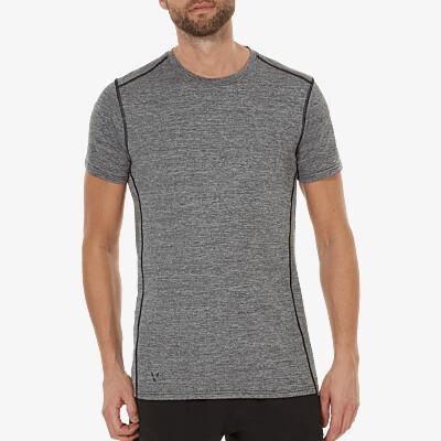 Basic sport T-shirt grijs Girav