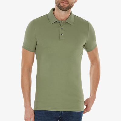 Marbella Slim Fit Poloshirt, Sea green