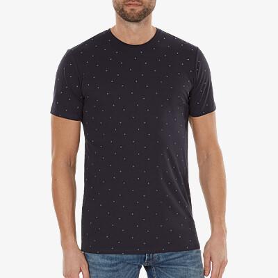 Valencia AOP T-shirt, Navy
