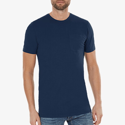 Largo t-shirt, Navy