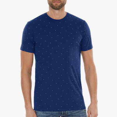 Valencia AOP T-shirt, Estate blue
