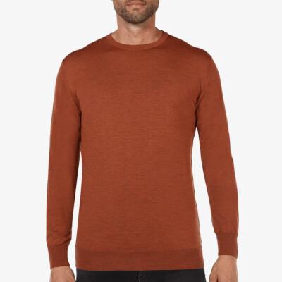 Ontario Crewneck pullover, Copper