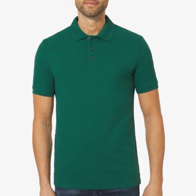 Marbella Slim Fit Poloshirt, Storm Green