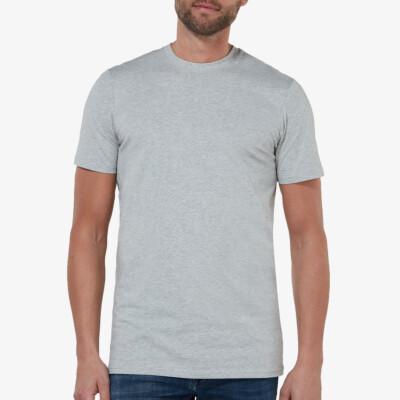 Sydney T-shirt, 2-pack Grijs Melee