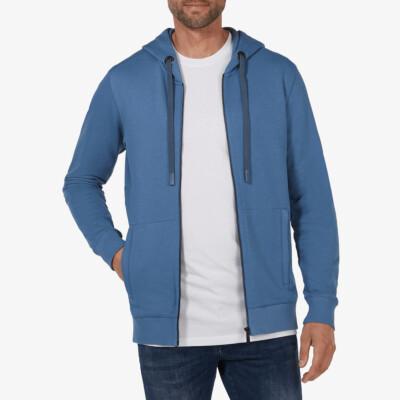 Denver Full Zip hoodie, Jeans blue