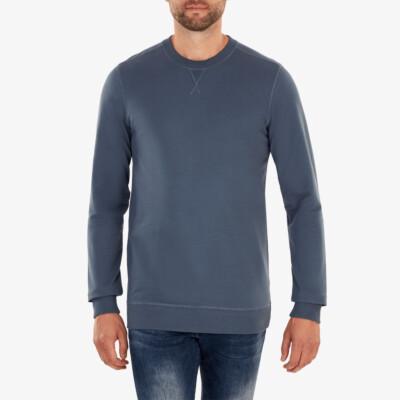 Princeton Lichtgewicht Sweater, Stone blue