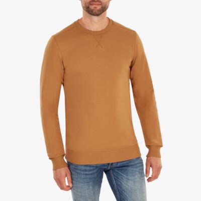Princeton Lichtgewicht Sweater, Sugar brown