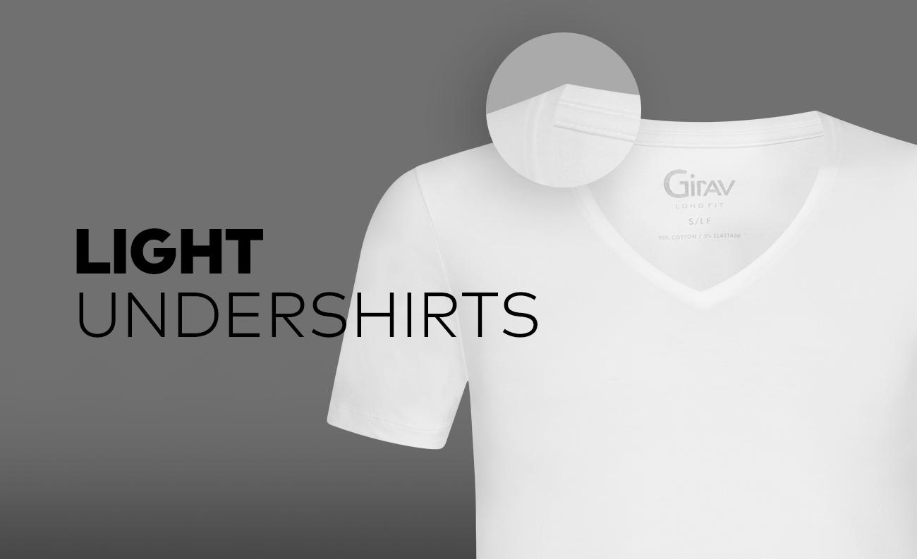 Luchtige ondershirts van Girav Perth en Brisbane - Light T-shirt die je lijf koel houden